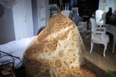 Zieglermatta i traditionell ljus färgskala, ca 242x167 cm.